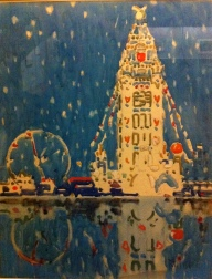Dreamland Tower, Coney Island, 1912 David Milne (1882-1953)